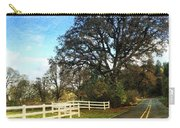 Country Road On Sauvie Island Carry-all Pouch