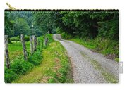 Country Road Carry-all Pouch by Frozen in Time Fine Art Photography
