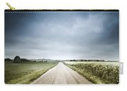 Country Road Through Fields, Denmark Carry-all Pouch by Evgeny Kuklev