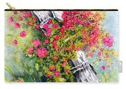 Country Rose Carry-all Pouch
