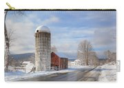 Country Snow Carry-all Pouch by Bill Wakeley