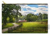 Country - The Pasture  Carry-all Pouch by Mike Savad