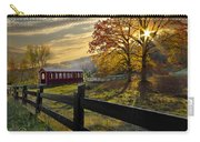 Country Times Carry-all Pouch by Debra and Dave Vanderlaan