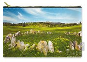 Countryside With Stones Carry-all Pouch