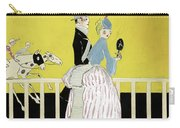 Couple At The Races, 1916 Carry-all Pouch