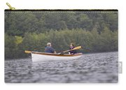 Couple Boating On Lake, Maine, Usa Carry-all Pouch