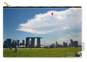 Couple Flies Kite Marina Bay Sands Singapore Carry-all Pouch