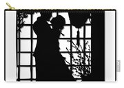 Couple In Love Silhouette Carry-all Pouch