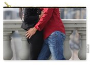 Couple Laughing Carry-all Pouch