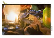 Couple Reading By Lantern, India Carry-all Pouch