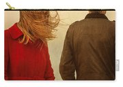 Couple With Relationship Problems Carry-all Pouch