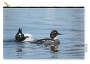 Courting Common Golden Eyes Carry-all Pouch