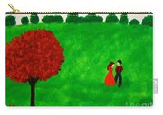 Courting Couple Carry-all Pouch