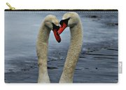Courting Swans Carry-all Pouch