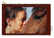 A Portrait Of Courtney And Annie Carry-all Pouch