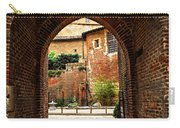 Courtyard Of Cathedral Of Ste-cecile In Albi France Carry-all Pouch