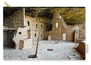 Courtyard Of Spruce Tree House On Chapin Mesa In Mesa Verde National Park-colorado  Carry-all Pouch