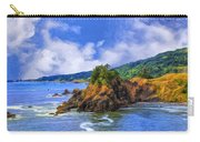 Cove On The Oregon Coast Carry-all Pouch