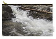 Covered Bridge And Waterfall Carry-all Pouch by Edward Fielding