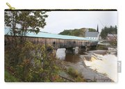 Covered Bridge  Bath Carry-all Pouch