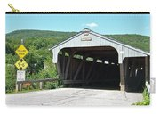 Covered Bridge For Pedestrians Carry-all Pouch