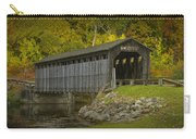Covered Bridge In Fall Carry-all Pouch