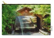 Covered Bridge In Sleeping Bear Dunes National Lakeshore Carry-all Pouch