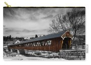 Covered Bridge Littleton New Hampshire 3 Carry-all Pouch