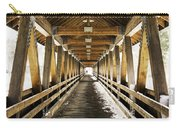 Covered Bridge Littleton New Hampshire Carry-all Pouch