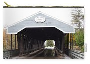 Covered Bridge North Conway Sacco River Carry-all Pouch
