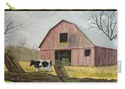Cow And Barn Carry-all Pouch by Norm Starks