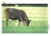 Cow And Friend Abstract Carry-all Pouch