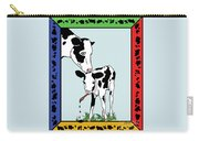 Cow Artist Cow Art II Carry-all Pouch