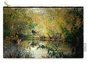 Cow By The Pond Carry-all Pouch