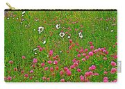 Cow Clover And Ox-eye Daisies On Campobello I Carry-all Pouch