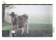 Cow In The Fog Carry-all Pouch