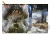 Cow Kiss Me Photo Art Carry-all Pouch