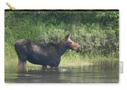 Cow Moose Breakfast Carry-all Pouch