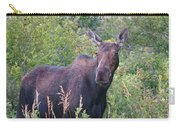 Cow Moose Portrait Carry-all Pouch