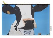 Cow On A Ditch Carry-all Pouch