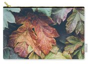 Cow Parsnip Leaves In The Fall Carry-all Pouch