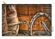 Cowboy Boots And Spurs Carry-all Pouch by Paul Ward