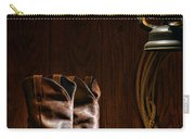 Cowboy Boots At The Ranch Carry-all Pouch