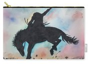 Cowboy Bronco Carry-all Pouch