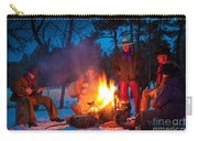 Cowboy Campfire Carry-all Pouch by Inge Johnsson