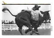 Cowboy Falling  From Bull Carry-all Pouch