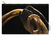Cowboy Hand Holding Lasso Carry-all Pouch