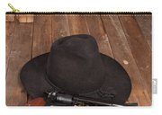 Cowboy Hat And Gun Carry-all Pouch