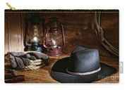 Cowboy Hat And Tools Carry-all Pouch