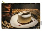 Cowboy Hat On Lasso Carry-all Pouch